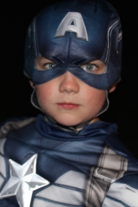 Noah as Captain America