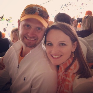 Tommy and I at the UT v. FL game
