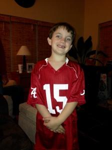 Noah's new AL jersey